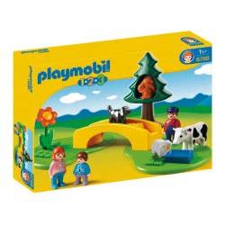 Playmobil Λιβάδι Με Γέφυρα Και Ζώα 6788 4008789067883
