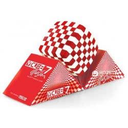 V-CUBE 7 Illusion Red White V7RW 5206457000036