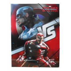 Diakakis imports Φάκελος Με Λάστιχο Captain America Civil War 0500693 5205698199615