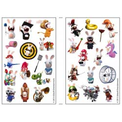 GIM Sticker Puffy Pvc Rabbits 774-52129 5204549072626