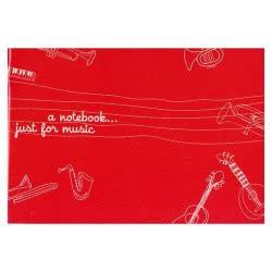 A&G PAPER A&G Τετράδιο καρφίτσα 40φ Μουσικής Β5 πεντάγραμμο 15338-ANG055 5203296153381