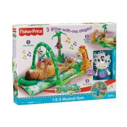 Fisher-Price Πάπλωμα - Γυμναστήριο Rainforest L1664 027084471625