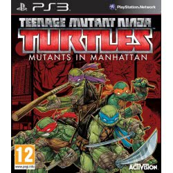 Activision PS3 Teenage Mutant Ninja Turtles Mutants In Manhattan 5030917192838 5030917192838