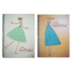 A&G PAPER A&G Σπιράλ Β5 2 θέματα 60φ Fairytale 015121 5203296151219