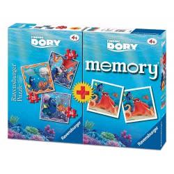 Ravensburger Ψάχνοντας την Ντόρι Finding Dory memory και 3 παζλ 05-06871 4005556068715