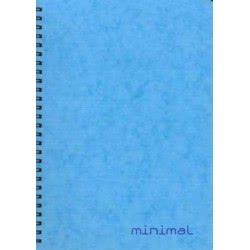 A&G PAPER A&G Τετράδιο Minimal Σπιράλ 17x25 2 Θεμάτων 80 Φύλλων 14607 5203296001279