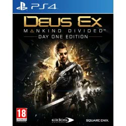 SQUARE ENIX PS4 Deus Ex Mankind Divided Steelbook Day 1 Edition 5021290073951 5021290073951