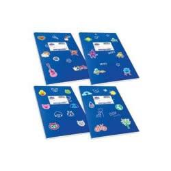 SKAG Τετράδιο Μπλε Χρωματιστό Κλασικά Super 17 X 25 - 50 Φύλλων 80Gr 1Τμχ 246859 5201303246859