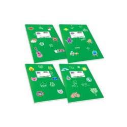 SKAG Τετράδιο Πράσινο Χρωματιστό Κλασικά Super 17X25-50 Φύλλων 80Gr 1Τμχ 246866 5201303246866