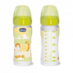 Chicco ΜΠΙΜΠΕΡΟ ΠΛΑΣ.(Ο% ΒΡΑ)250 ML TRIS-R WELL BEING A60-60056-01 8003670714255