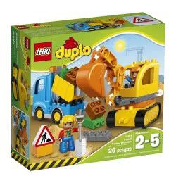 LEGO Duplo Φορτηγό Και Ερπυστριοφόρος Εκσκαφέας 10812 5702015599399
