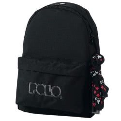 POLO Original Backpack With Scarf, Color Black (2018) 901135-02-00 5201927071554
