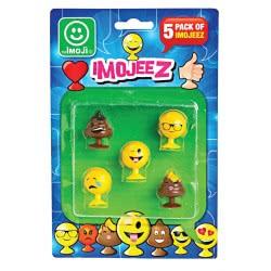 Imoji Βεντουζοφιγούρες Imojeez σε καρτέλα 5 τεμαχίων MJE08000 8056379011934