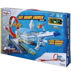 Maisto FRESH METAL GET AWAY LAUNCH PLAYSET 12220 090159122203