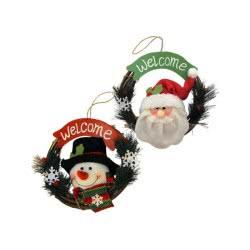 Christakopoulos Στεφανάκι Χριστουγεννιάτικο 2 Σχέδια 20Εκ. 4529 231670045293
