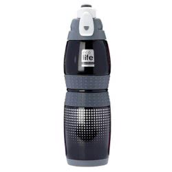 eco life Ecolife Μεταλλικό μπουκάλι 400ml Vacuum Black 33-BO-3013 5208009001447
