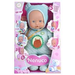 As company Nenuco Κούκλα Soft Με 5 Λειτουργίες - Μπλε 4104-12664 8410779021717