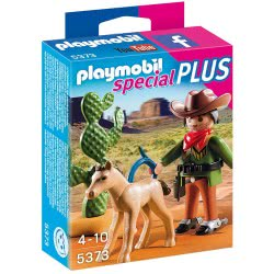 Playmobil Cowboy με πουλάρι 5373 4008789053732