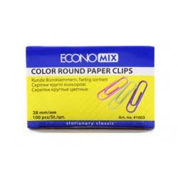 OEM Συνδετήρες Χρωματιστοί 100 τεμάχια 32-050 4044572410030