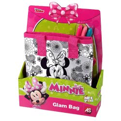 As company Minnie Mouse Τσάντα Ζωγραφικής My Style Glam Bag 1080-05150 5203068051501