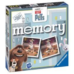 Ravensburger Memory Παιχνίδι μνήμης The secret life of pets 05-21225 4005556212255