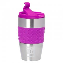 eco life Κούπα-Θερμός για Καφέ Silicon Violet 400ml 33-BO-4003 5208009001355