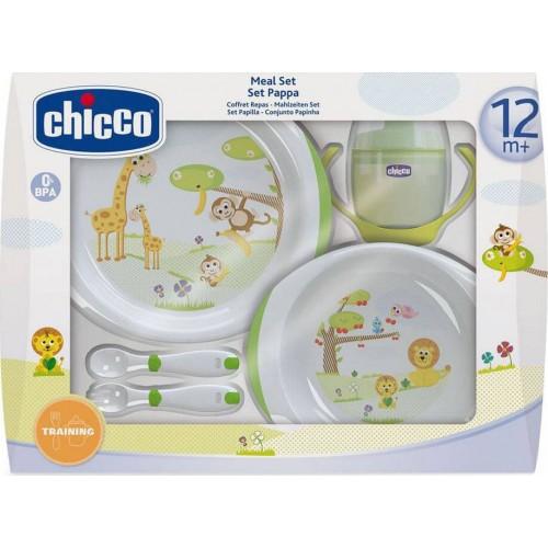 Chicco Σετ Φαγητού Πιάτα - Ποτήρι - Κουτάλια 12M+ F06-06833-00 8003670880028