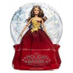 Mattel Barbie Συλλεκτική Holiday 2016 Κόκκινο Φόρεμα DRD25 887961331431