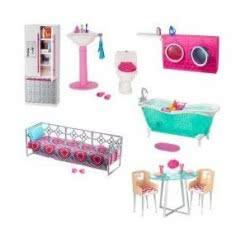 Mattel Barbie Έπιπλα - 6 Σχέδια DXR91 / ASST 887961401875