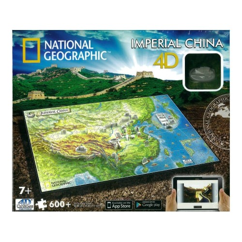GIOCHI PREZIOSI National Geographic Puzzle 4D Ancient China Αρχαία Κίνα 61006 714832610060