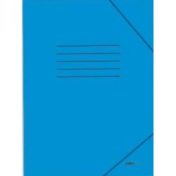 salko paper Salko Φάκελος με λάστιχο γαλάζιος 6024 5202832060244