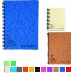 A&G PAPER A&G Τετράδιο Minimal Σπιράλ A4 2 Θεμάτων 80 Φύλλων 014600 5203296001224