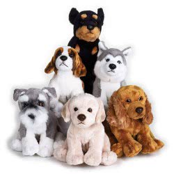 LELLY Λούτρινα Σκυλάκια Βαου-Βαου Με Φωνή 742232 8004332422327