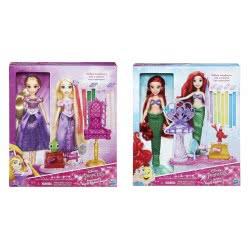 Hasbro Disney Princess Deluxe Hair Play - 2 σχέδια B6835 5010994956431