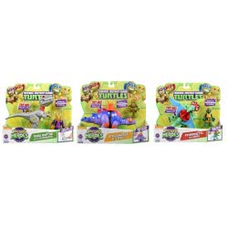 GIOCHI PREZIOSI Χελωνονιντζάκια TMNT Teenage Mutant Ninja Turtles Half-Shell Heroes Dino με φιγούρα TUH03111 8056379000716