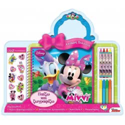 ΨΥΧΟΓΙΟΣ Disney Minnie: Παίζω και ζωγραφίζω 15844 9786180108859