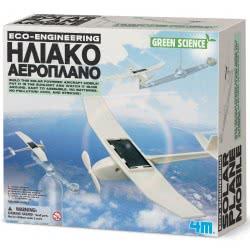 4M Κατασκευή Ηλιακό Αεροπλάνο 4M0408 4893156033765