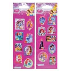 GIM Αυτοκόλλητα Sticker Capsule Disney Princess 771-14734 5204549074996