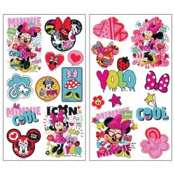 GIM Αυτοκόλλητα PVC Silver Minnie Mouse 773-13626 5204549095120