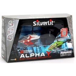 Silverlit Τηλεκατευθυνόμενο Ελικόπτερο I/R E.C.H Alpha Y (2CH) - 3 σχέδια 7530-84734 4891813847342