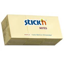 OEM Χαρτάκια σημειώσεων Stick N` Cube Κίτρινο 38Χ50mm 100φ 550.21003 4712759907092