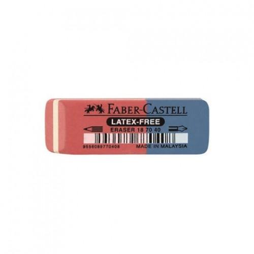 Faber-Castell Fc Γόμα Κόκκινο/Μπλε Rubber Κλασσική 7070-40 187040 9556089770408