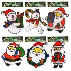 OEM Χριστουγεννιάτικα αυτοκόλλητα Gelly 21x20cm 930532 0930531000010