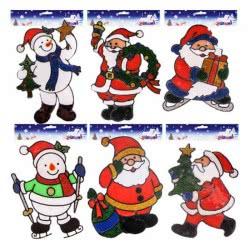 OEM Χριστουγεννιάτικα αυτοκόλλητα Gelly 25x21cm 930531 0930532000010