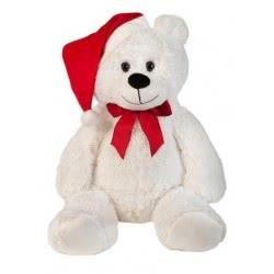 Christakopoulos Λούτρινο αρκουδάκι με φιόγκο και σκούφο 2895-1 5212007512843