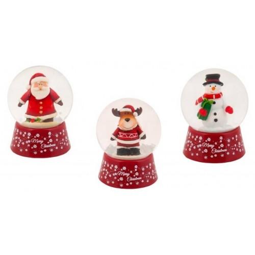 Christakopoulos Χιονόμπαλα Merry Christmas - 3 σχέδια 1327 5212007530458