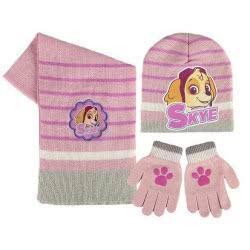 Loly Χειμωνιάτικο Σετ σκουφάκι, γάντια, κασκόλ Skye 02512 8427934828043