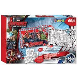 LUNA OFFICE Marvel Avengers Παζλ χρωματισμού 2 όψεων 60 τεμ 0500732 5205698171154