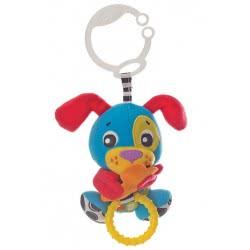 Playgro Peek-A-Boo Wiggling Puppy Κρεμαστό Παιχνιδάκι με Δόνηση 0m+ 0185472 9321104854711