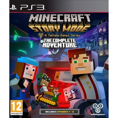 telltalegames PS3 Minecraft Story Mode: The Complete Adventure 5060146463645 5060146463645
